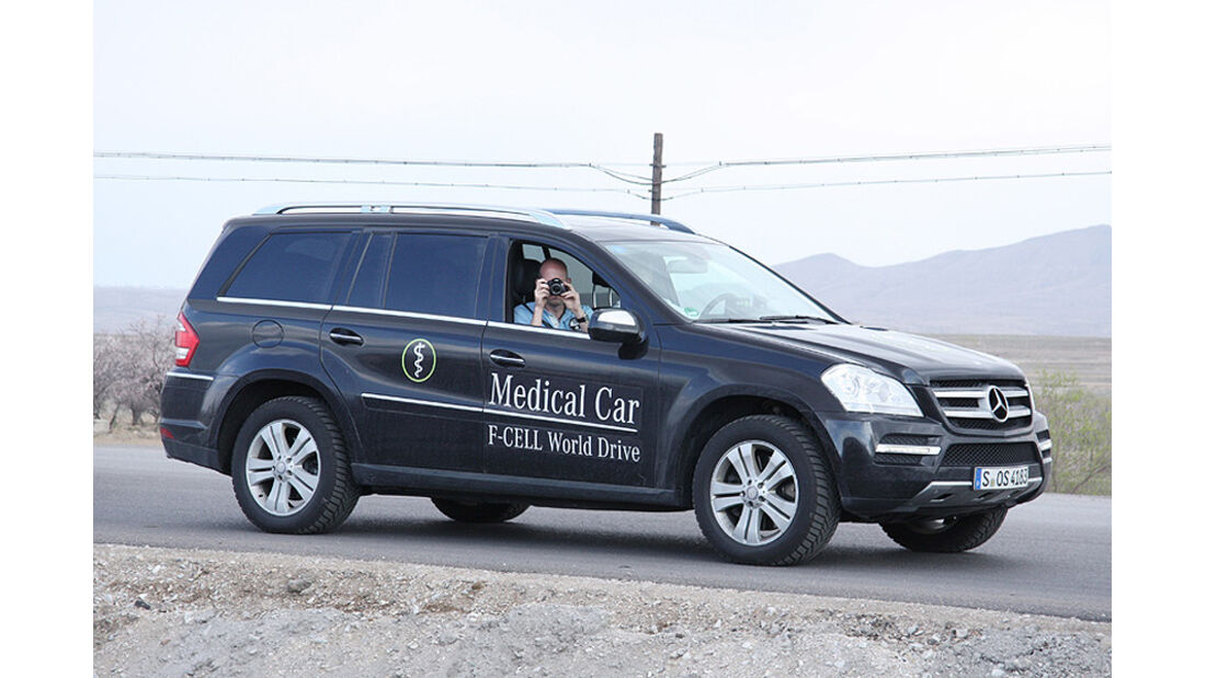 05/11 Mercedes F-Cell World Drive, B-Klasse, Brennstoffzelle, 50. Tag