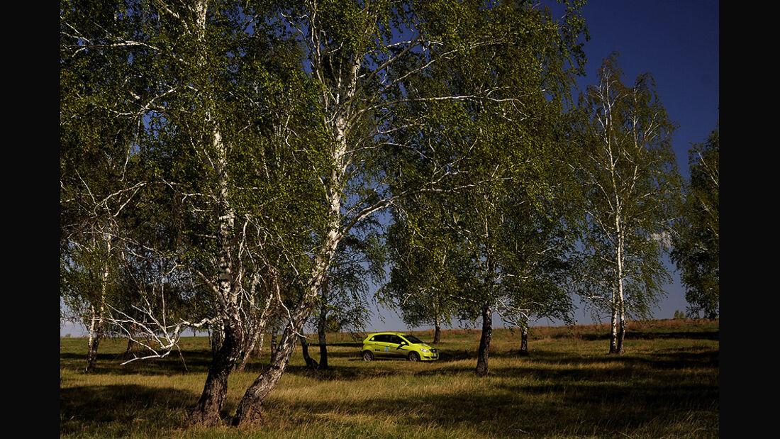 05/11 Mercedes F-Cell World Drive, B-Klasse, Brennstoffzelle, 56. Tag