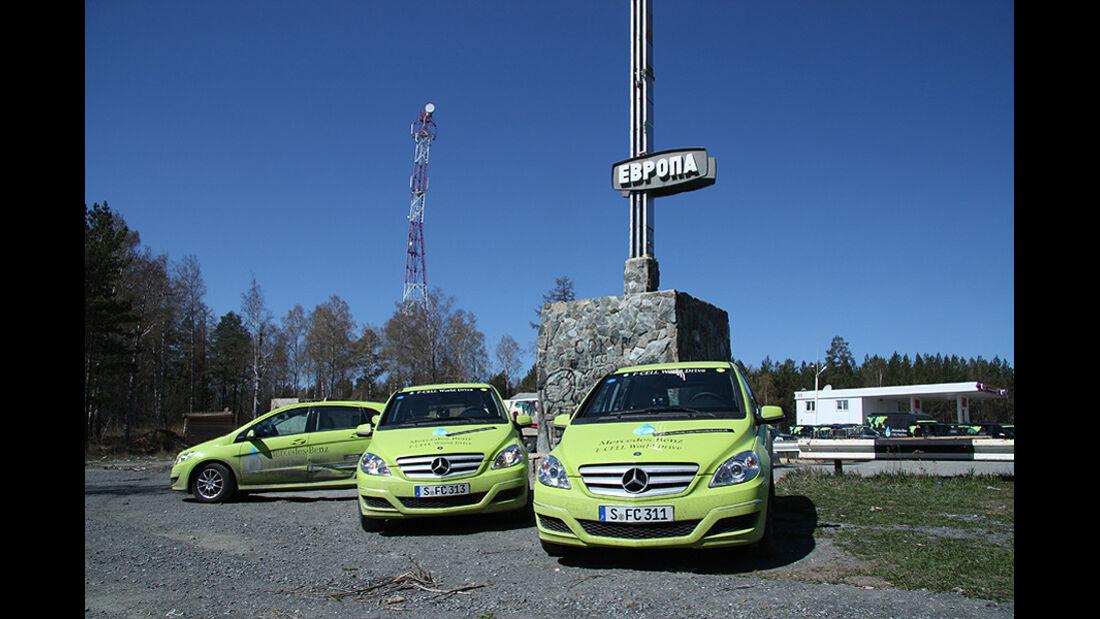 05/11 Mercedes F-Cell World Drive, B-Klasse, Brennstoffzelle, 57. Tag