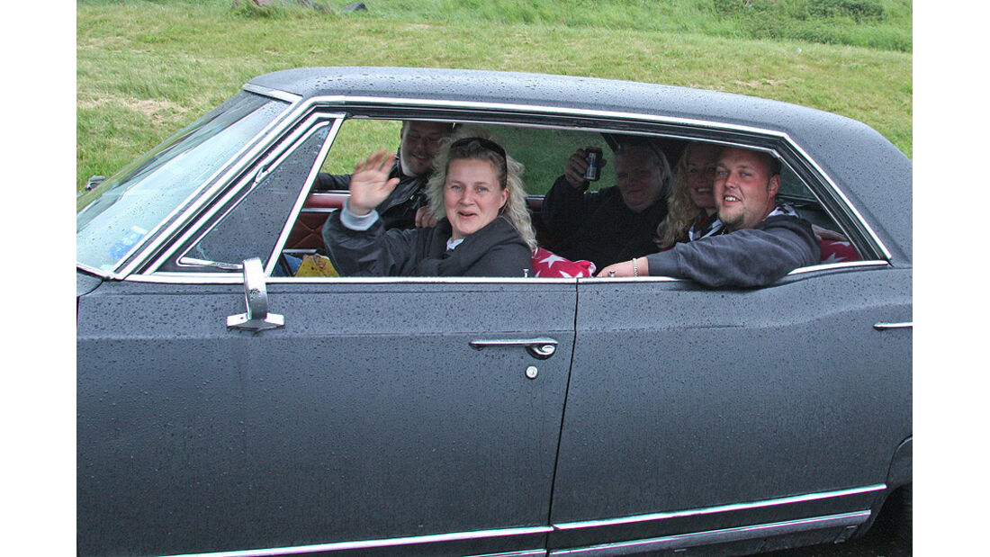05/11 Mercedes F-Cell World Drive, B-Klasse, Brennstoffzelle, 68. Tag, Oslo-Malmoe