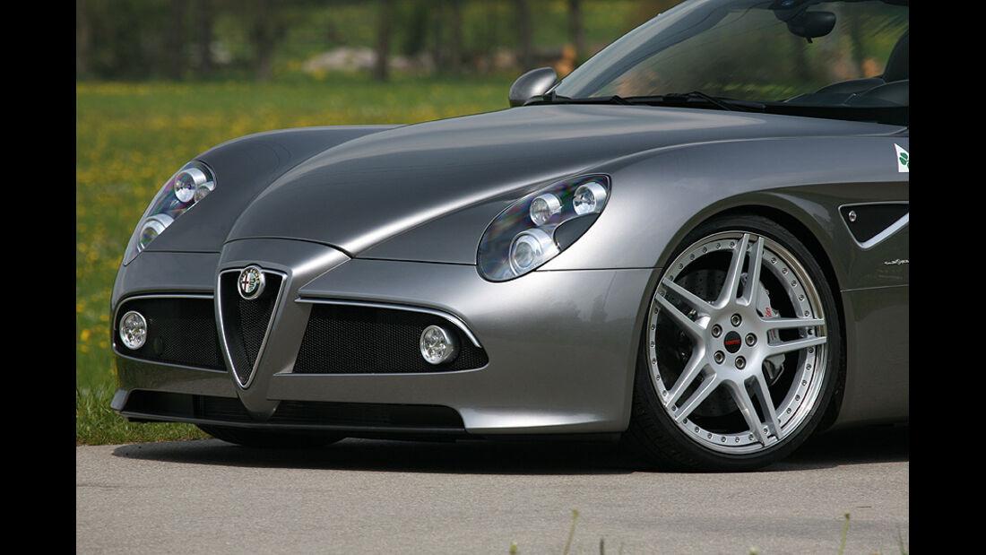 05/11 Novitec Alfa Romeo 8C Kompressor, Felge
