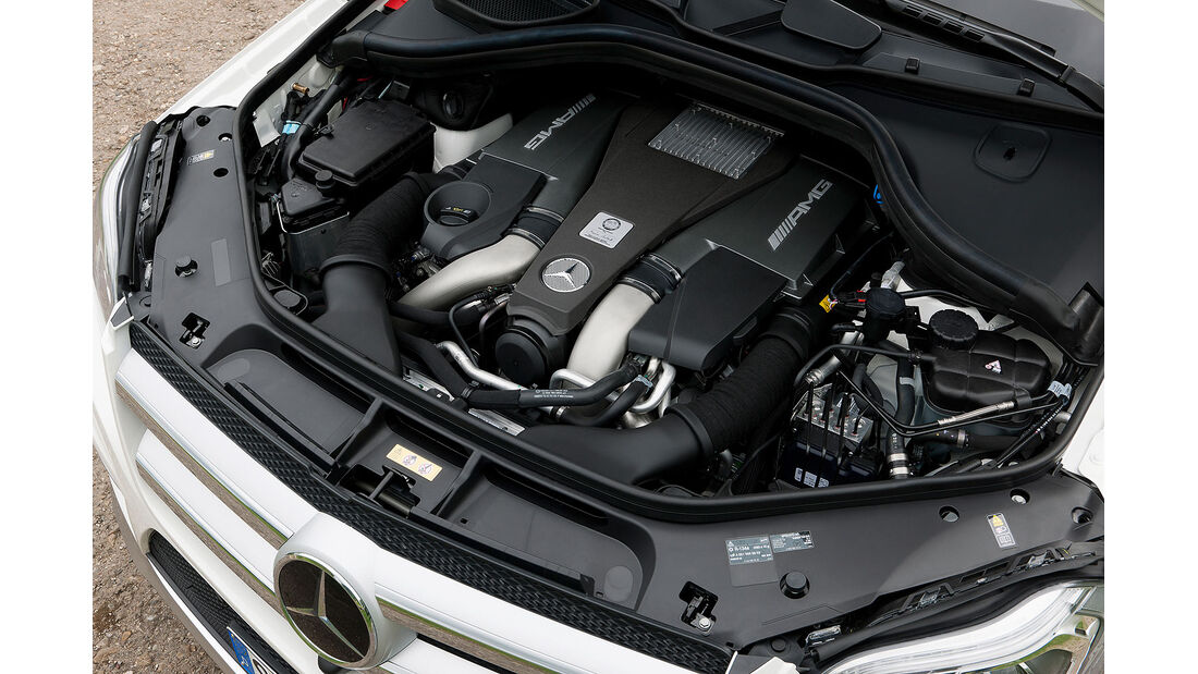05/2012, 2012 Mercedes GL 63 AMG, Motor
