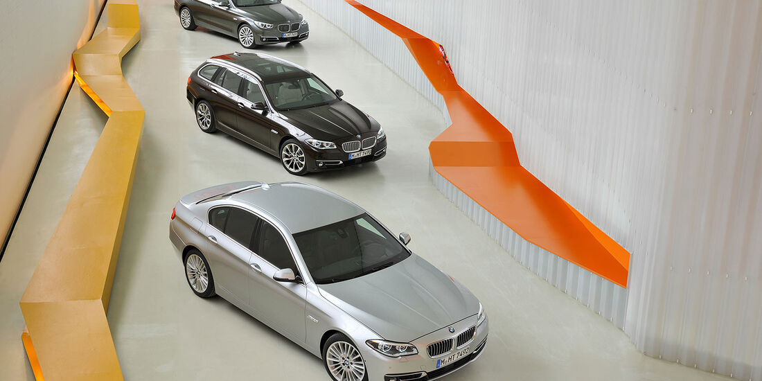 05/2013, BMW 5er Modellfamilie