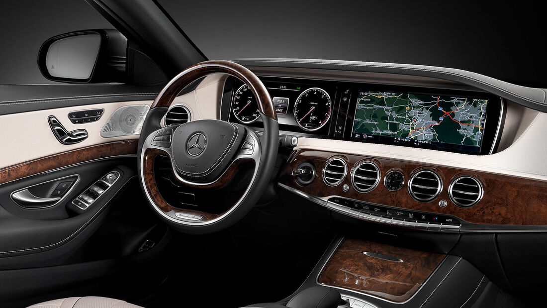 05/2013, Mercedes S-Klasse, Innenraum