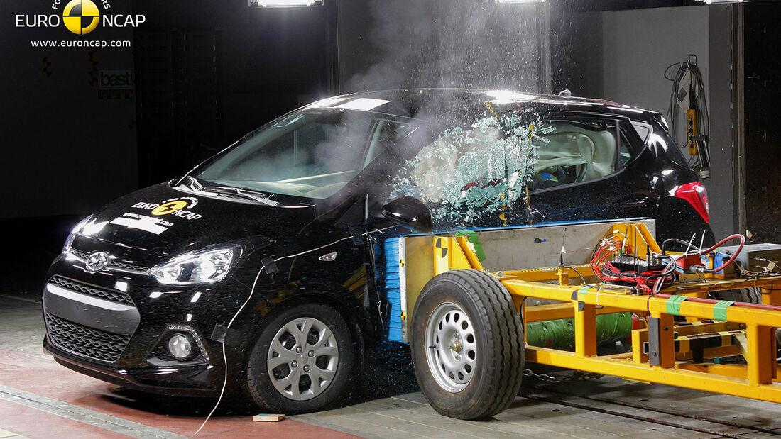 05/2014 EuroNCAP Crashtest Hyundai i10
