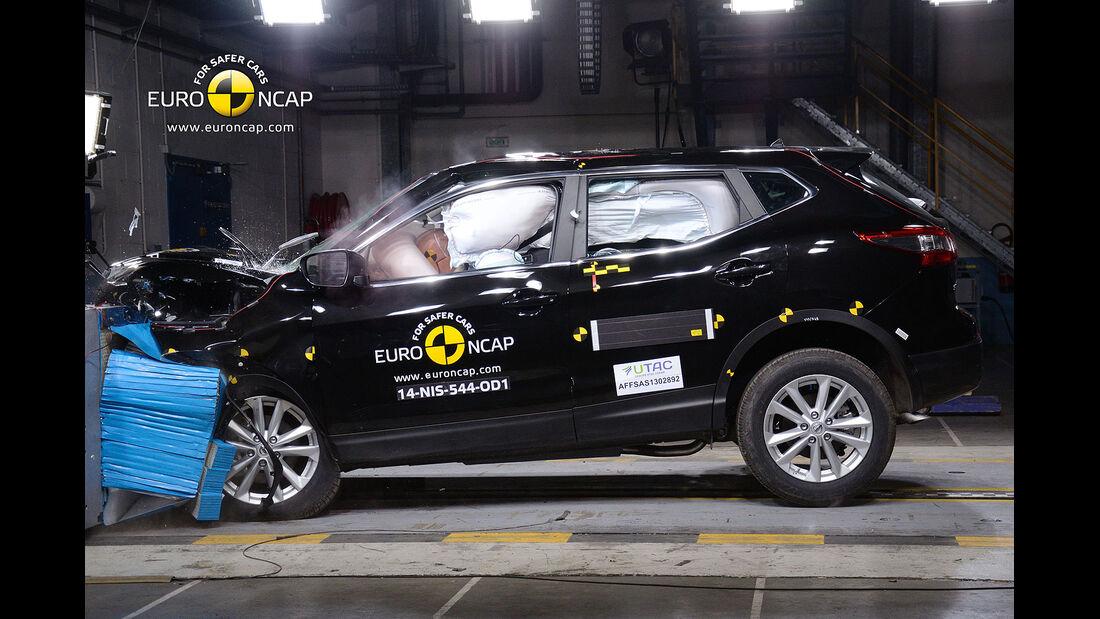 05/2014 EuroNCAP Crashtest Nissan Qashqai