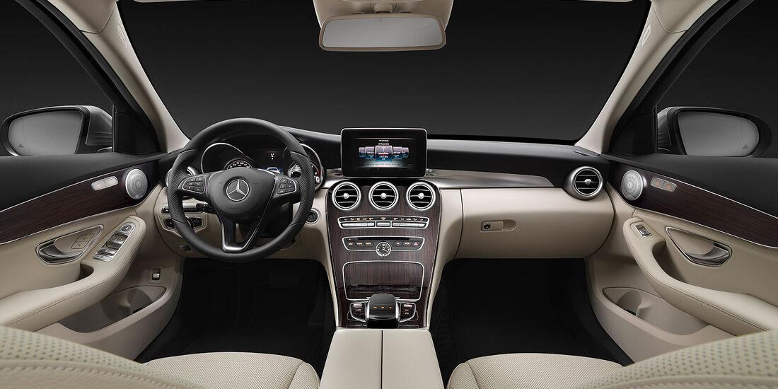 05/2014 Mercedes C-Klasse T-Modell Kombi, Innenraum