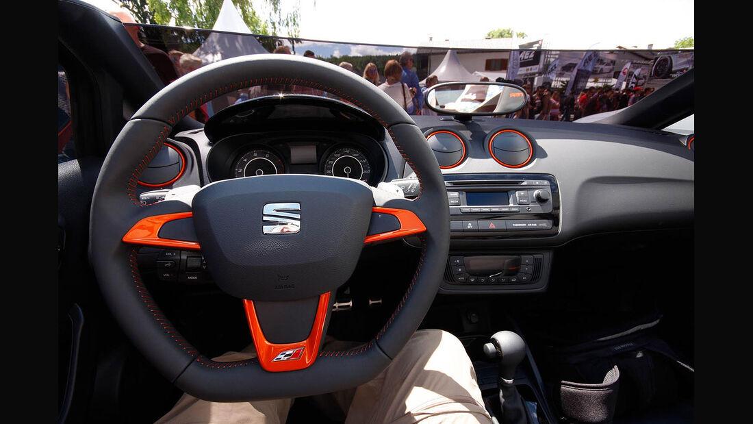 05/2014 Seat Ibiza Cupster Sitzprobe Wörthersee