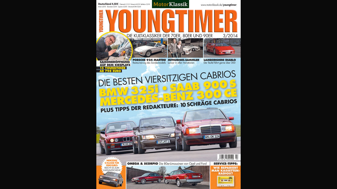 05/2014 - Youngtimer, Heftvorschau, Heft 03/2014