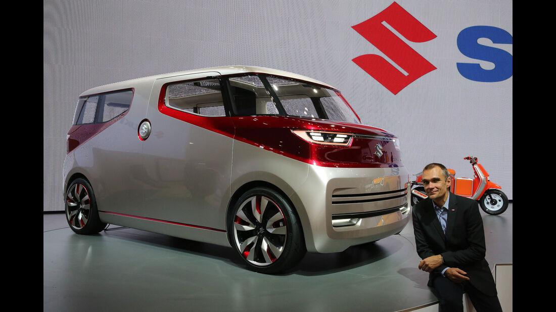 05/2015, Tokio Motor Show 2015 Jörn Thomas Suzuki Air Triser