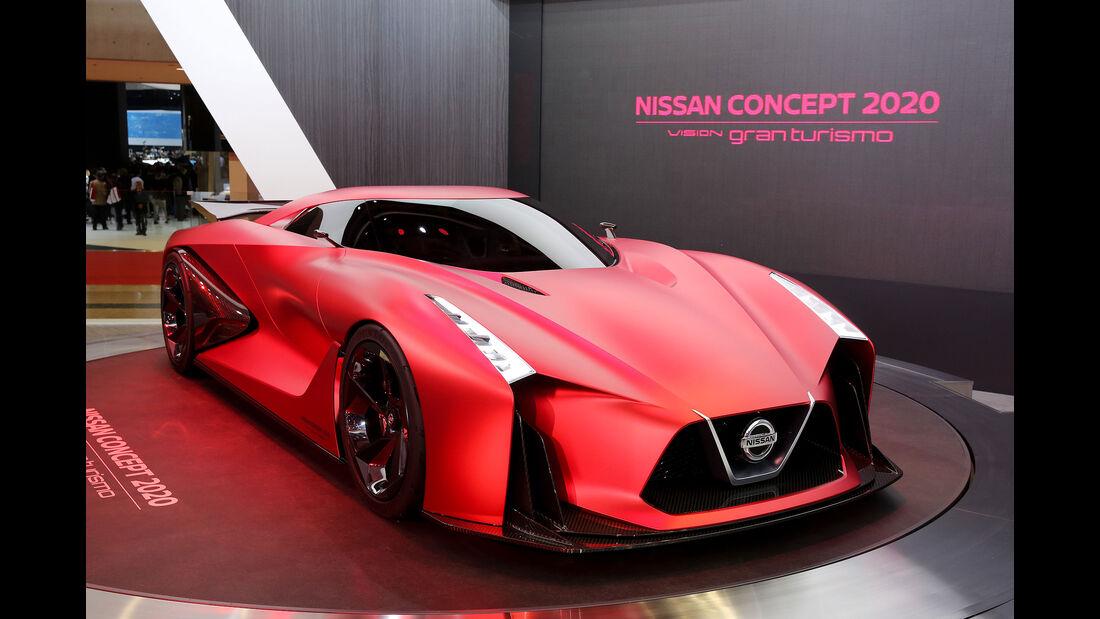 05/2015, Tokio Motor Show 2015 Nissan Vision 2020