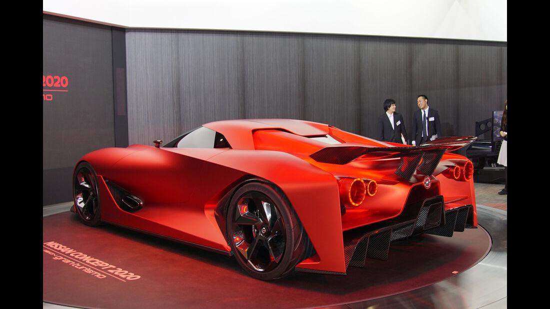 05/2015, Tokio Motor Show 2015 Nissan Vision 2021
