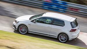 05/2016, Rundenrekord VW Golf GTI Clubsport S Sperrfrist 4.5. 00.00 Uhr