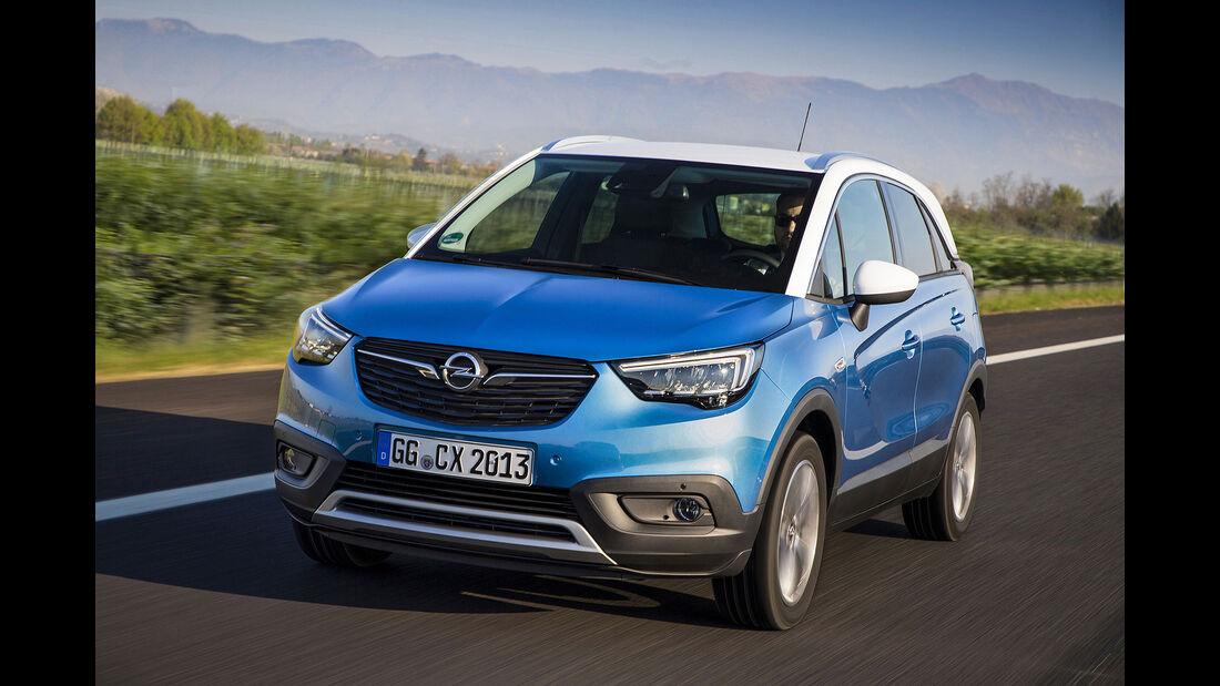 05/2017 Opel Crossland X Fahrbericht