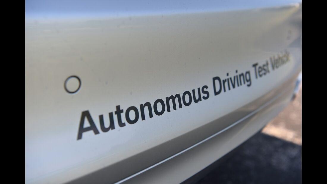 05/2018, BMW Autonomous Driving Test Vehicle