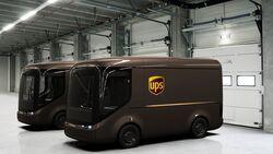 05/2018, UPS Delivery Vans