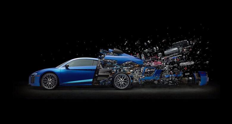 05/2019, Fabian Oefner Disintegrating Audi R8