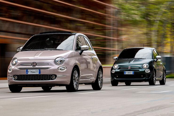 Fiat 500 Modellpflege: Neue Ausstattungslinien und mehr