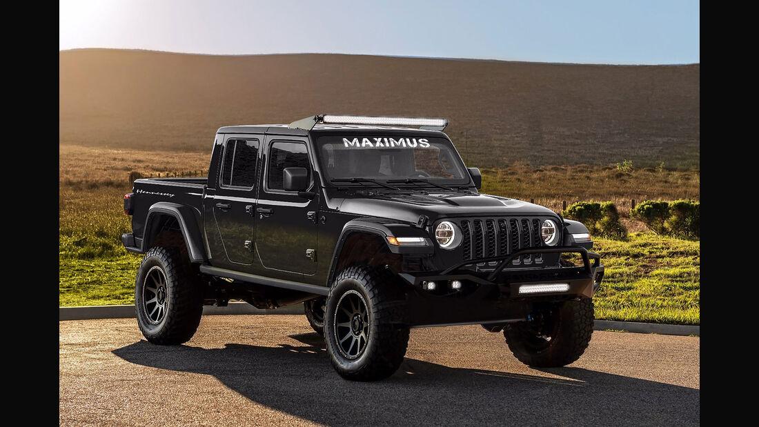 05/2019, Hennessey Maximus 1000 auf Basis Jeep Gladiator