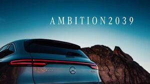 """05/2019, Mercedes EQC 400 Firmenstrategie """"Ambition 2039"""""""