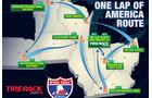 05/2019, One Lap of America 2019 Routenplan