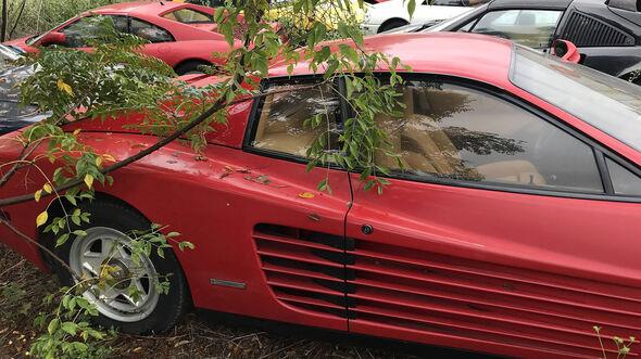 05/2019, Verlassene Ferraris in Houston