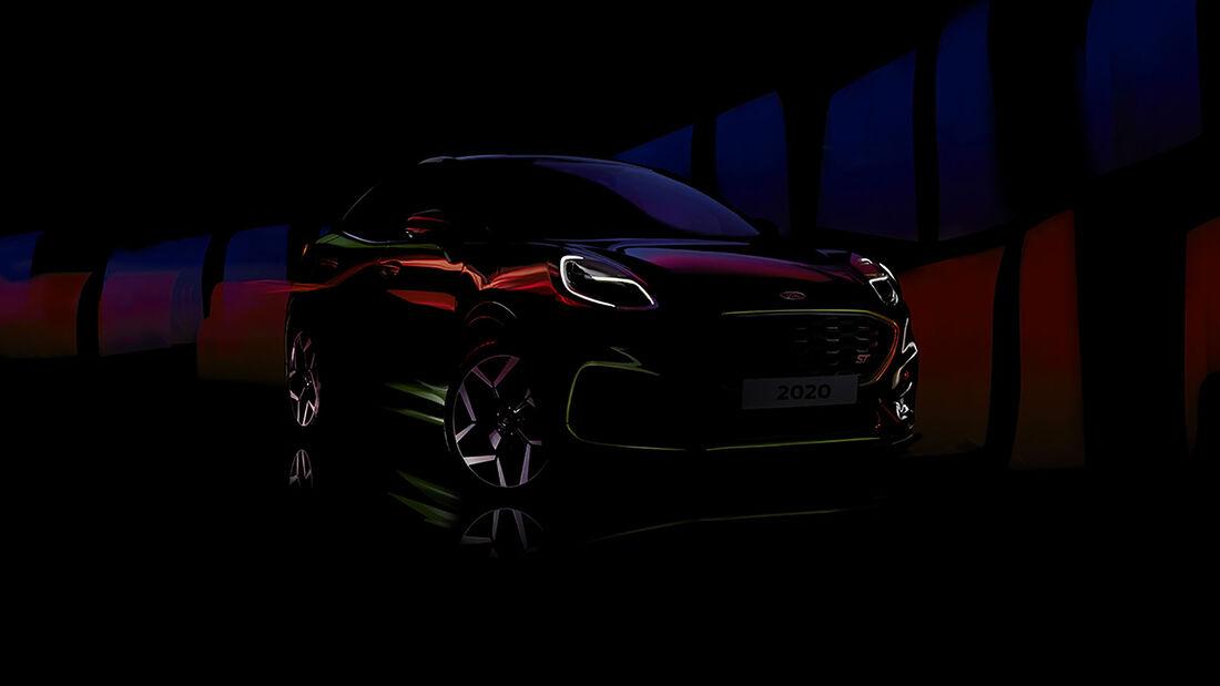 05/2020, Ford Puma ST Teaserbild