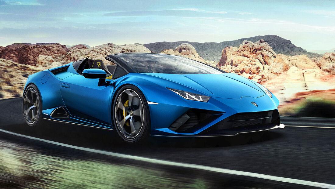 05/2020, Lamborghini Huracan Evo RWD Spyder