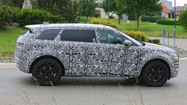 05/2020, Land Rover Evoque 7 Sitzer Erlkönig