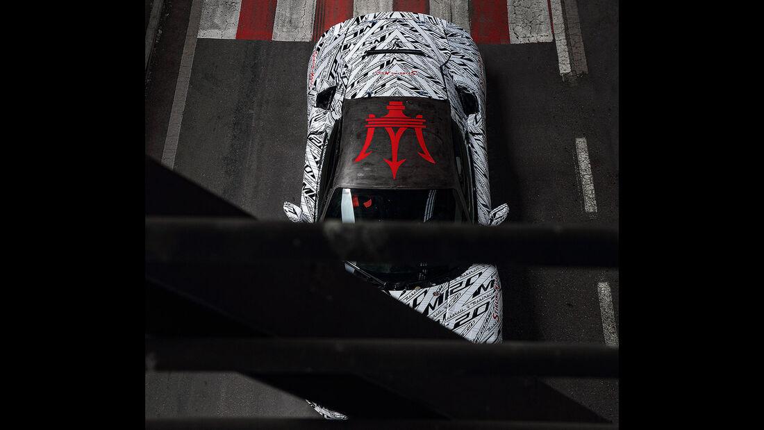 05/2020, Maserati MC20 Stirling Moss Tribut