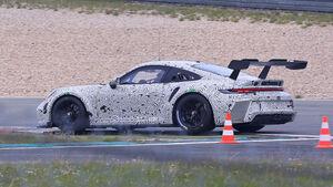 05/2020, Porsche 911 GT3 Rennwagen Typ 992 Erlkönig