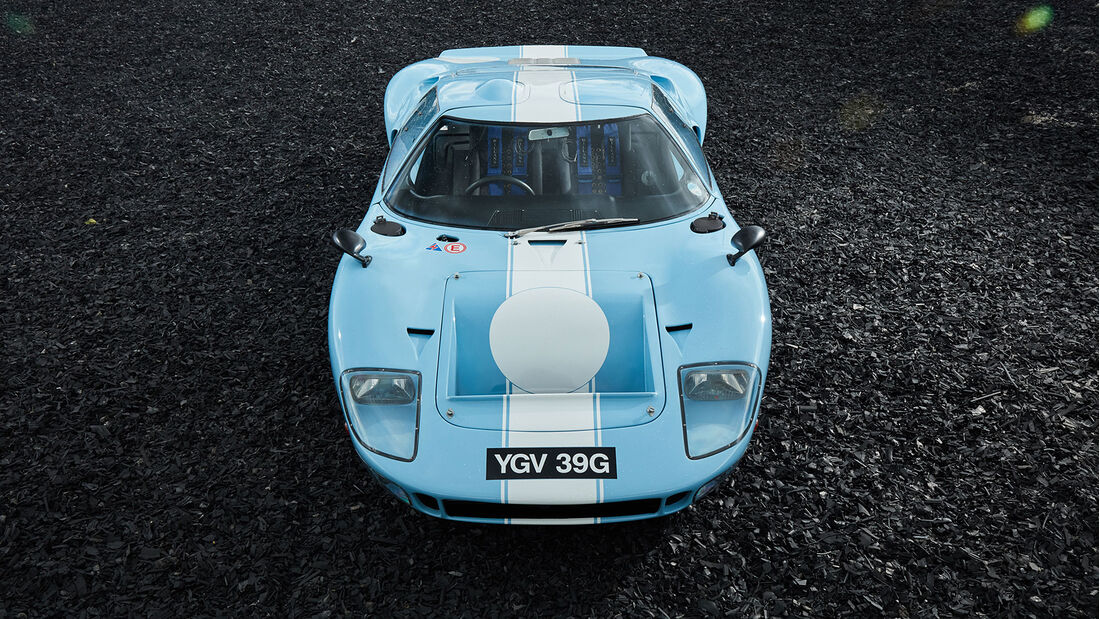 05/2021, 1969 Ford GT40 Chassis Nummer P/1085