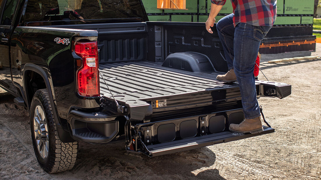 05/2021, Chevrolet Silverado HD mit Multi-Flex Tailgate