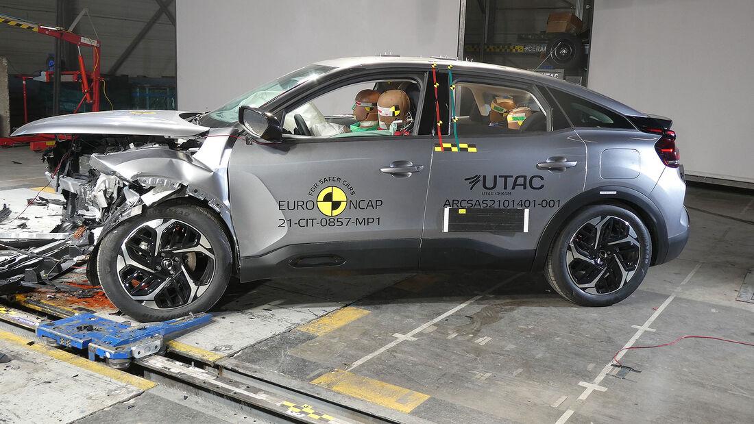 05/2021, Citroen C4 Euro NCAP Crashtest 2021