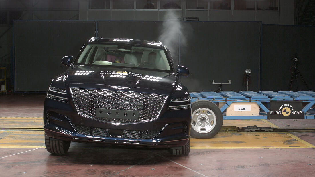 05/2021, Genesis GV80 Euro NCAP Crashtest 2021