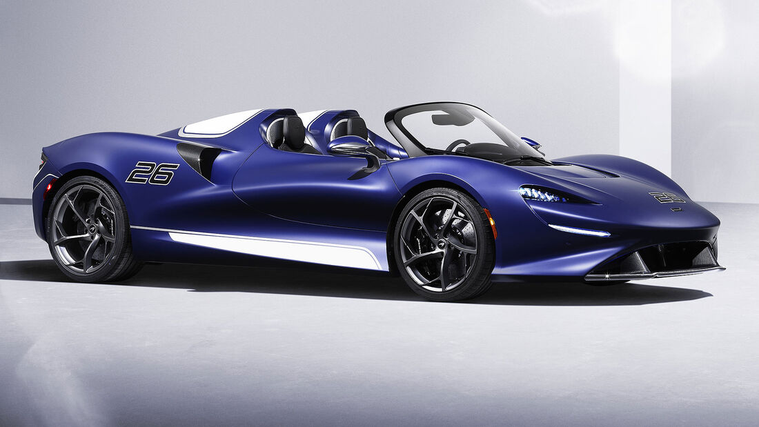 05/2021, McLaren Elva Windschutzscheiben-Version