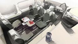 05/2021, VW Multivan T7 Multifunktionstisch