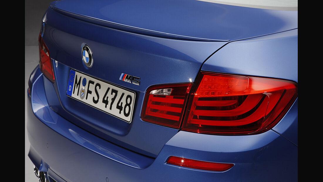 06/11 BMW M5 Limousine, Heck