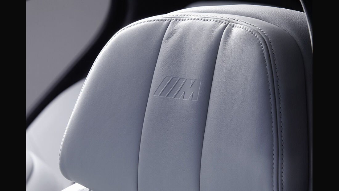 06/11 BMW M5 Limousine, Innenraum