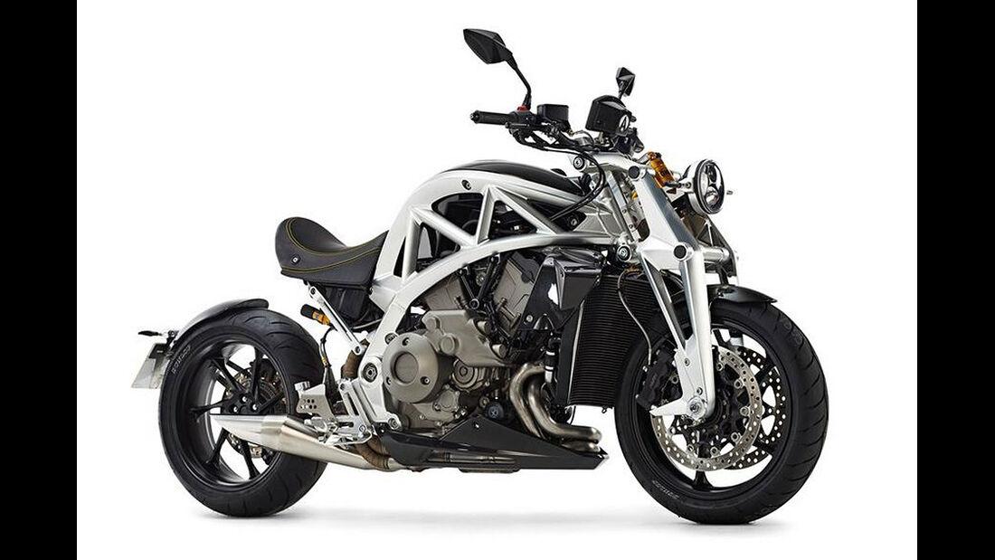 06/2014, Ariel Ace Motorrad