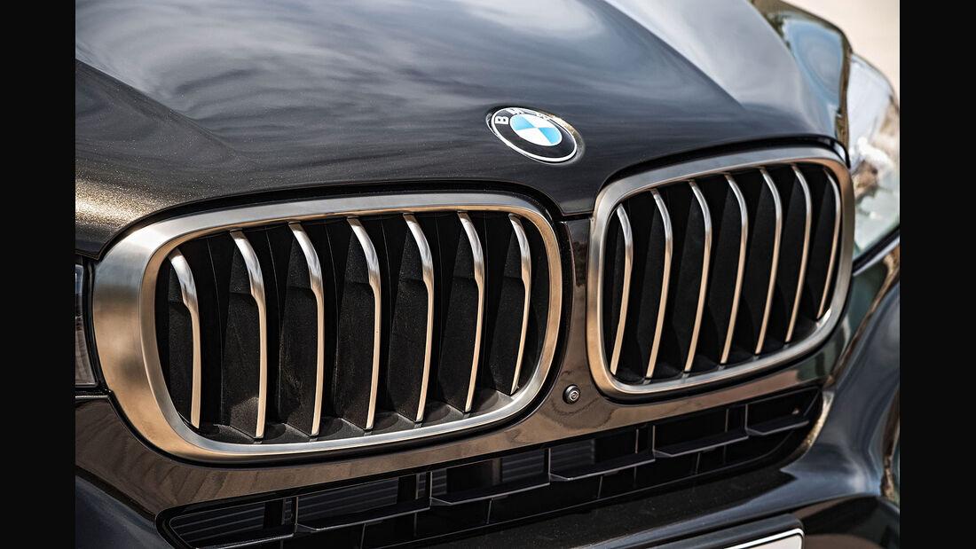 06/2014, BMW X6 Facelift, Kühlergrill
