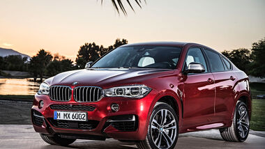 06/2014, BMW X6 Facelift, X6 M