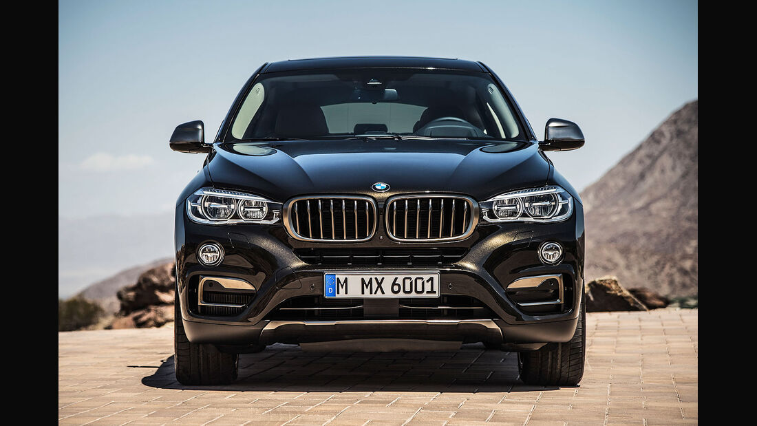 06/2014, BMW X6 Facelift
