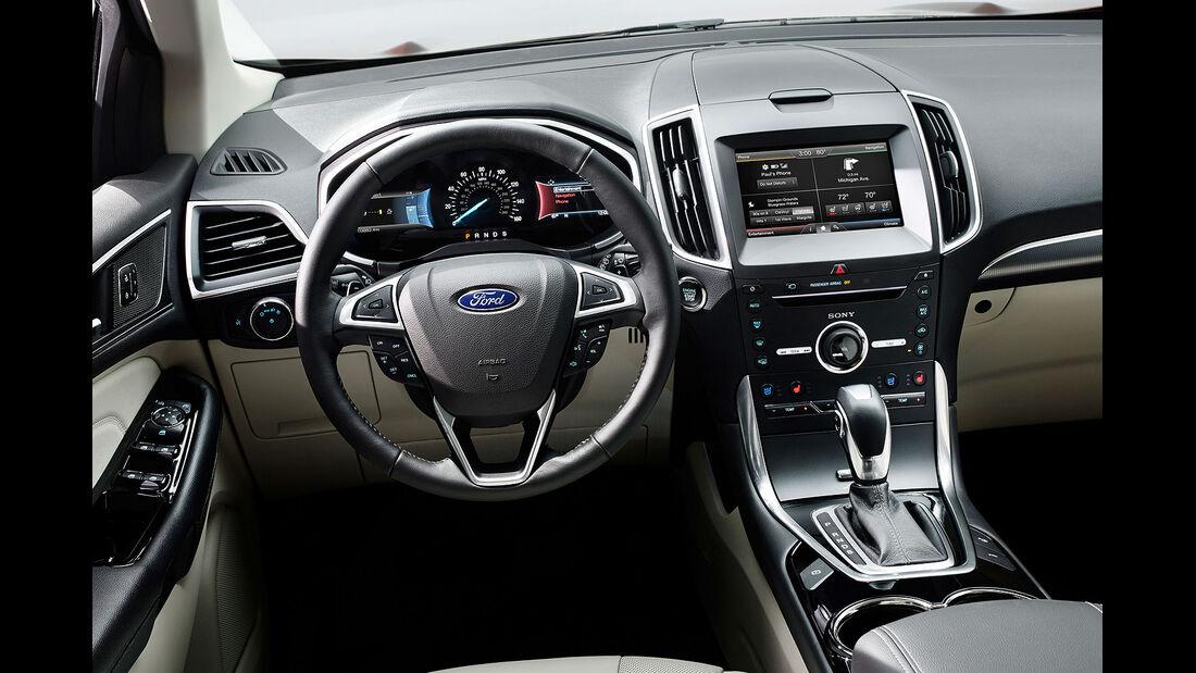 06/2014, Ford Edge, Innenraum