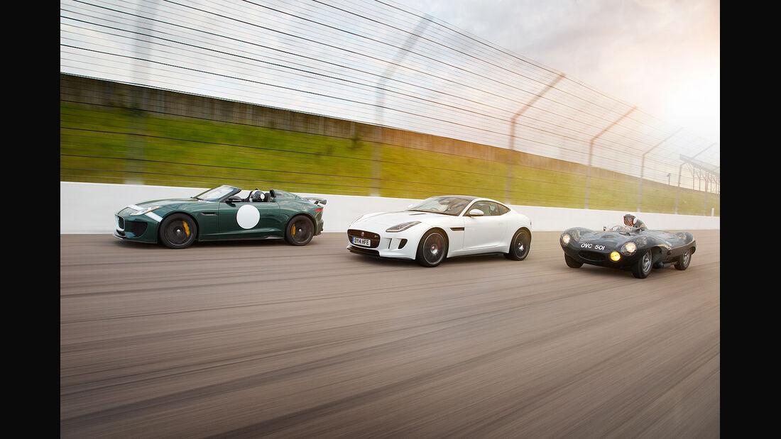 06/2014, Jaguar Project 7 Goodwood 2014 Serienmodell