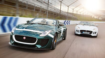 06/2014, Jaguar Project 7 Goodwood 2014 Serienmodell