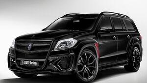 06/2014, Larte Design Mercedes GL Black Crystal
