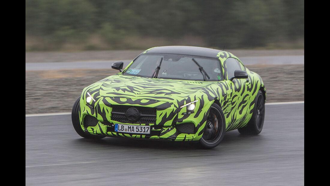 06/2014, Mercedes GT AMG Erlkönig