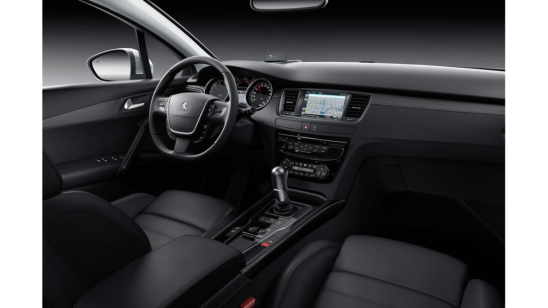 06/2014, Peugeot 508 Facelift, Innenraum