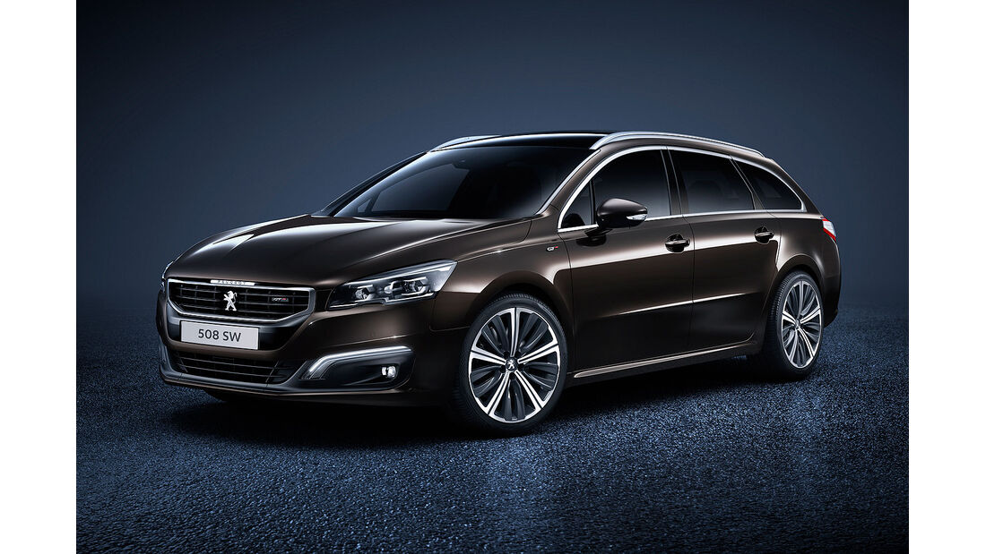 06/2014, Peugeot 508 SW Facelift